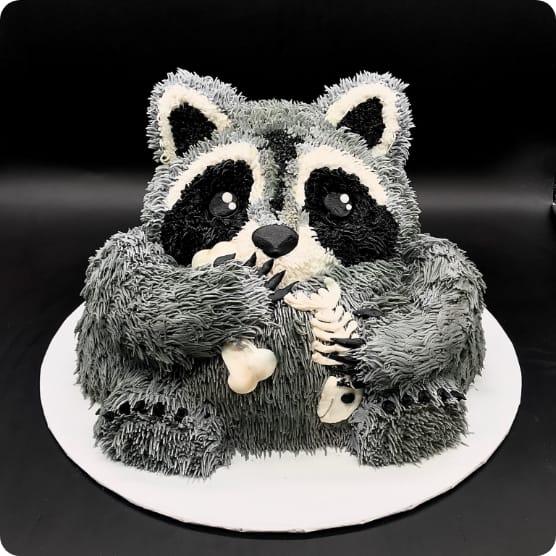 Racoon Cake