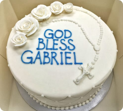 Fabulous First Communion Cakes Baptism Cakes Craigs Cake Shop Funny Birthday Cards Online Overcheapnameinfo