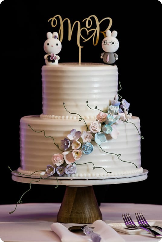 Wedding Bunny Cake